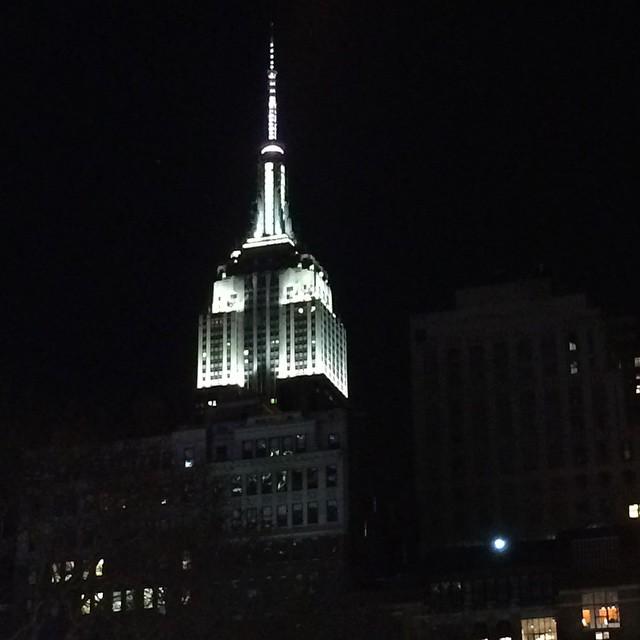 42nd Street, New York, NY #theskywhereIam #EmpireState