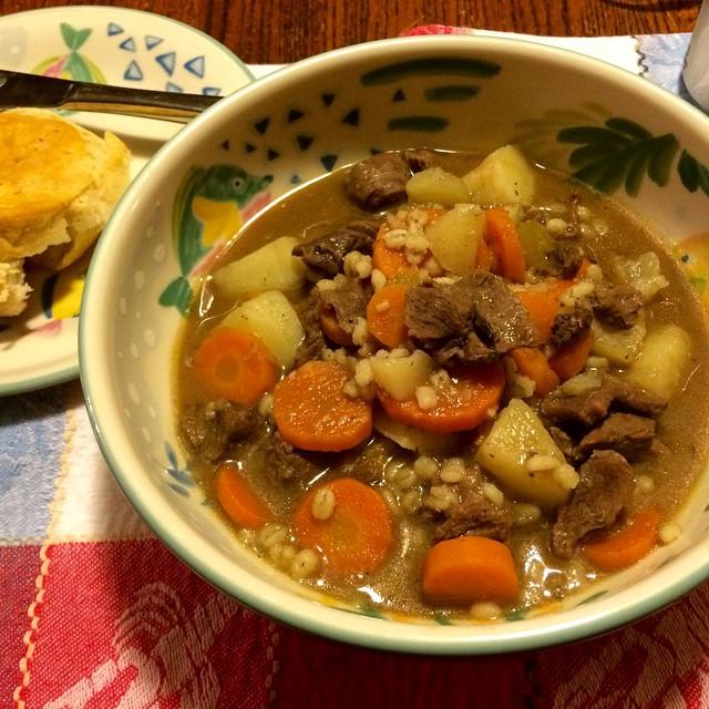 Mom's Irish stew #yum #homecooking
