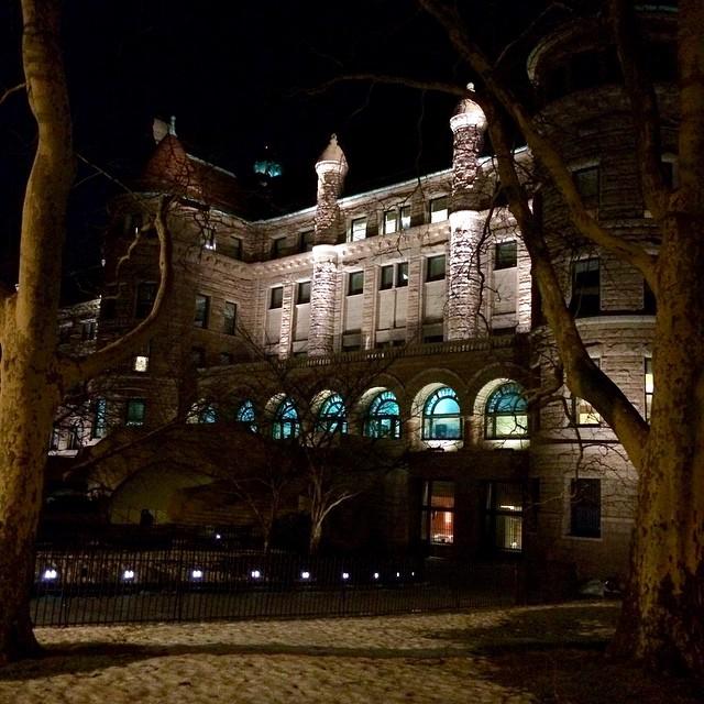 Beloved AMNH by night ?